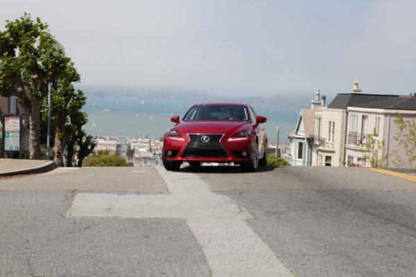 Lexus 250 in San Francisco