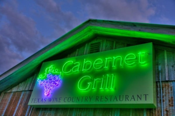 Neon Cabernet Grill