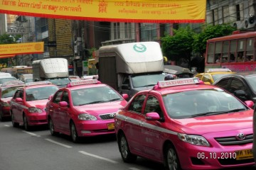 Pink cabs
