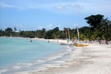 Beach in Jamaica