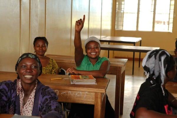 Class at City of Joy