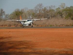 Plane in Zambia