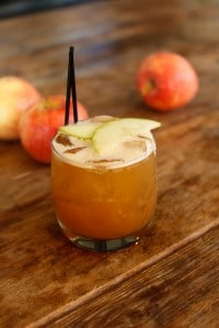 Spiced Apple Sidecar
