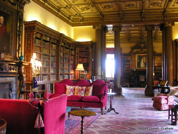 Highclere Castle library
