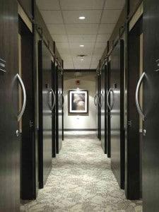 Back hallway at PHL