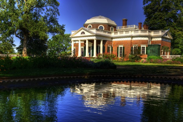 Thomas Jefferson's Monticello in HDR by Randy Pertiet