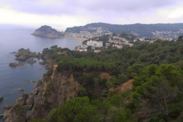 View of Green Cliffs by Lloret de Mar, Spanish Coast by Shearings Holidays