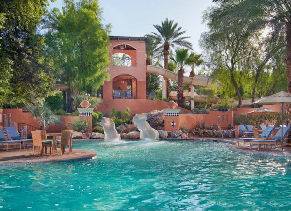 Slides at Sonoran Splash Pool