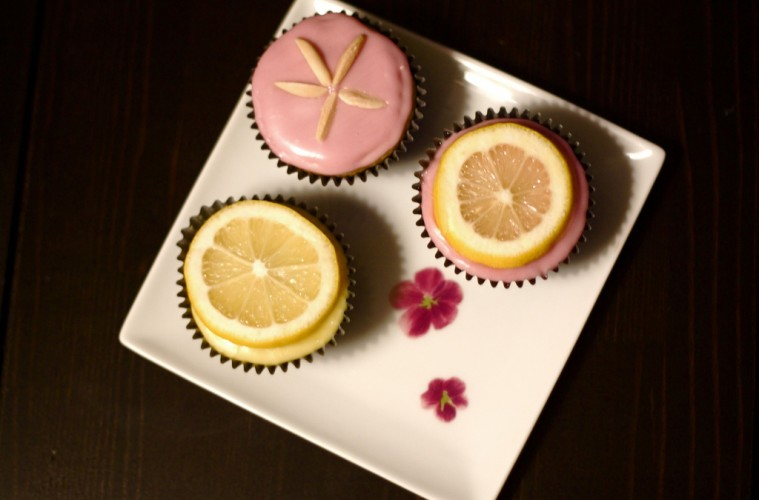 Vegan-Gluten Free Lemon Cupcakes by Michelle N
