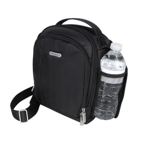 The Travelon Boarding Bag #42728 in black. Photo courtesy Travelon