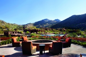 View from Ignite at Ritz Carlton Dove Mountain Tucson