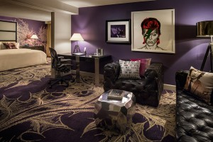 Junior Suite. Photo courtesy Hard Rock Hotel Palm Springs