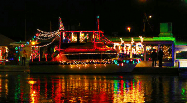 Twinkle Light Boat Parade