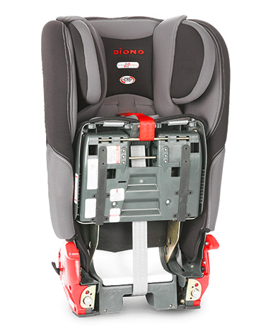 Diono Rainier car seat folds