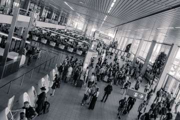 AMS Departures by Ghislain Mary via Creative Commons