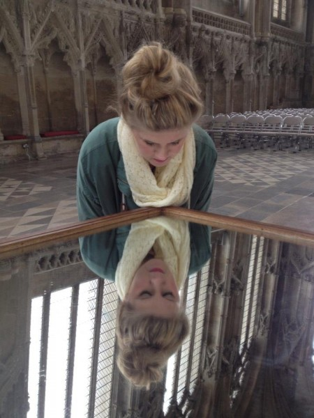 In the Ely Cathedral