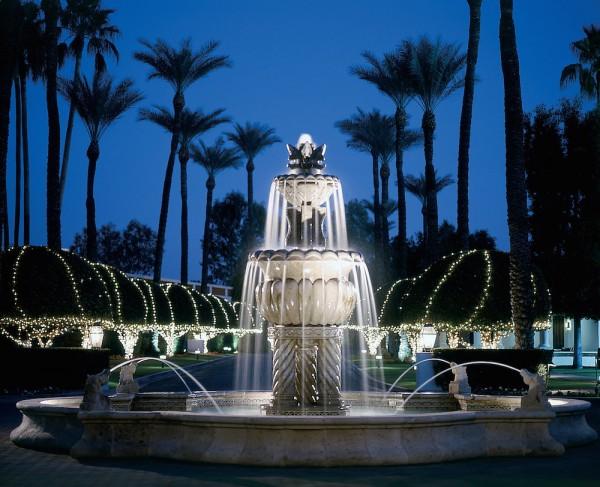 Scottsdale Resort entry fountain