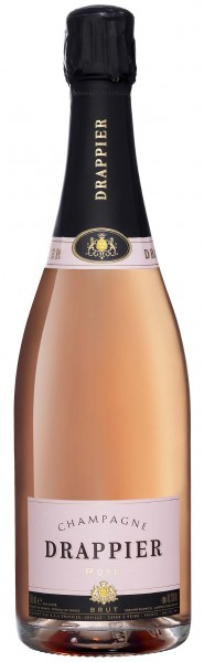 brut rose from champagne drappier