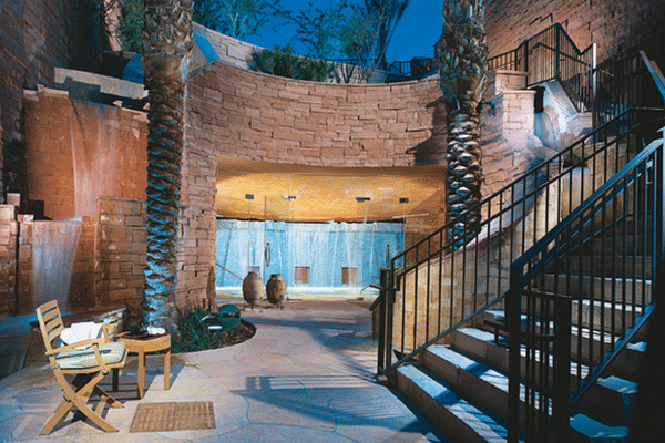 Havasupai Falls at Well and Being at Willow Stream Spa. Photo courtesy Fairmont Scottsdale Princess