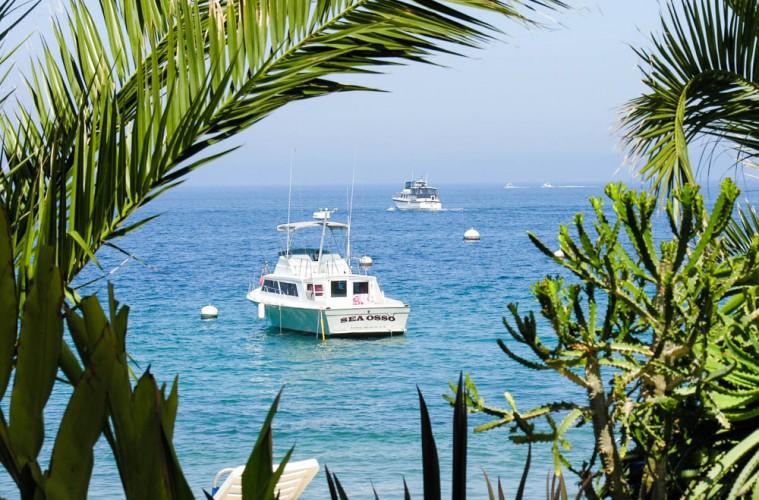 Descanso Beach Club on Catalina Island