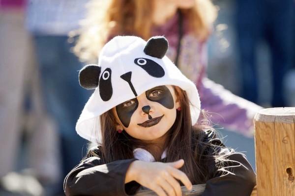 Knott's Spooky Farm_Panda Girl