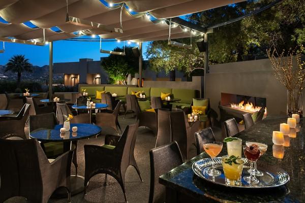 jade bar patio. Photo by Mark Boisclair, courtesy Sanctuary on Camelback