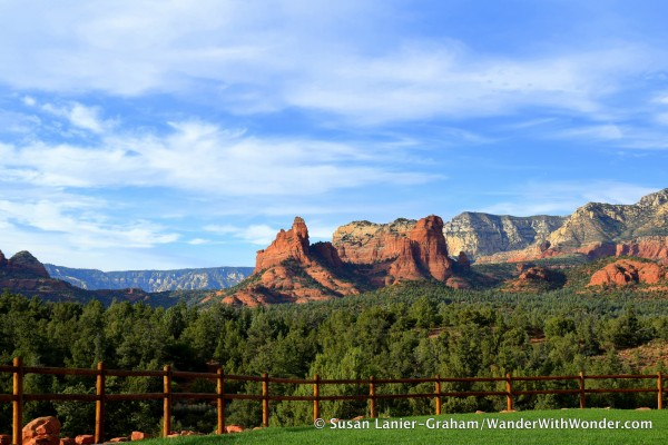 Sedona from Mariposa