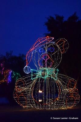 Fairmont Scottsdale Princess - Teddy Bear Lagoon Lights by Susan Lanier-Graham