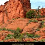 Sedona, Arizona is magical any time of the year, but it is one of the best places on Earth in fall. Head to Sedona in fall to breathe in the mountain air. #Sedona #adventure #travel #Arizona #PinkJeep