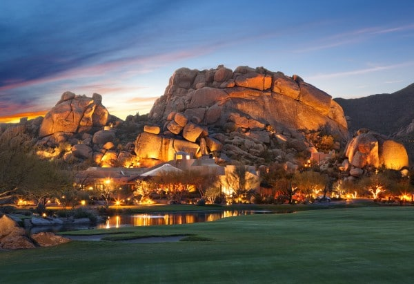 The Boulders Resort and Spa.