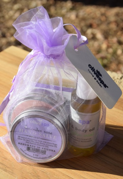 Olivespa Giveaway Products