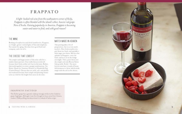Tasting Wine and cheese Frappato Page-