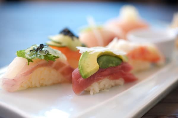 Sushi at Sushi Roku