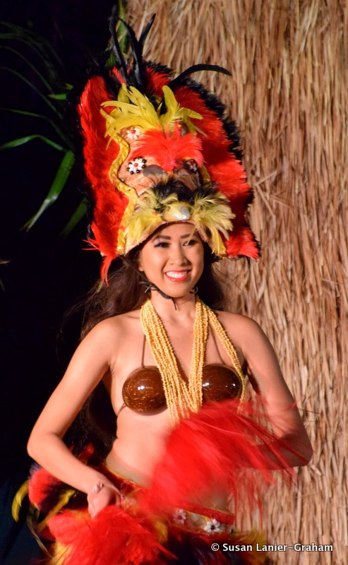 Luau Performer Maui. Photo by Susan Lanier-Graham