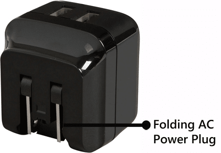 Accell Home Or Away Dual USB International Charging Kit