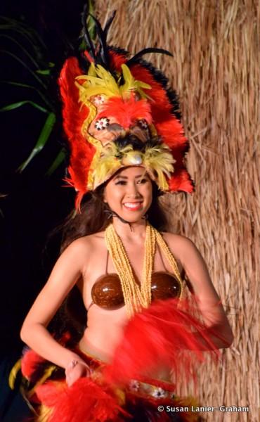 Luau Performer Maui