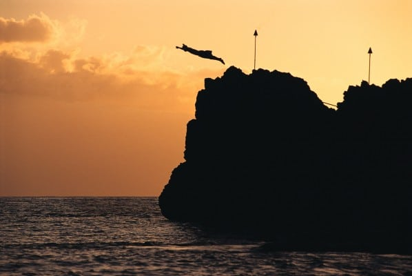 Sheraton Maui Cliff Diving
