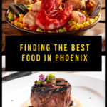 Finding the best food in Phoenix. Here are a few of my favorite restaurants and bites in the Valley of the Sun. #Arizona #food #Phoenix