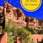 I was at Mii amo, a destination spa set amid the Red Rocks of Sedona, Arizona, on an outdoor spa table, a perfect Arizona blue October sky overhead. My Mii amo spa journey proved to be a life-changing spa adventure.