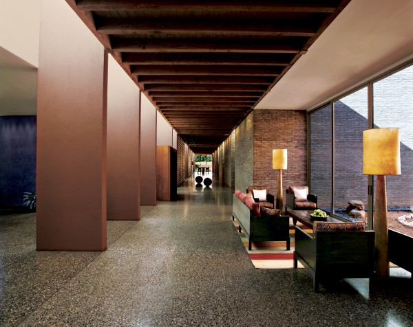 The interior is relaxing and welcoming at Mii amo. Photo courtesy Mii amo