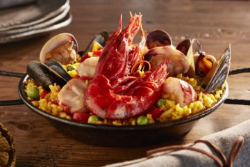 Paella de Mariscos is a signature dish at Talavera. Photo courtesy Four Seasons Resort at Scottsdale Troon North