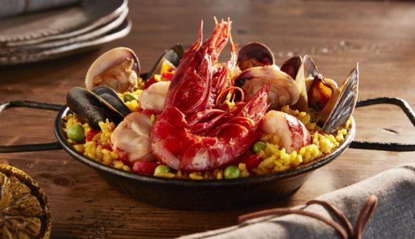 Paella de Mariscos is a signature dish at Talavera. Photo courtesy Four Seasons Resort at Scottsdale Troon North