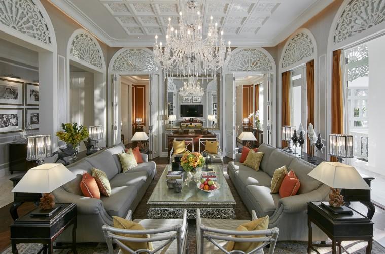 Royal Suite. Photo courtesy Mandarin Oriental Bangkok