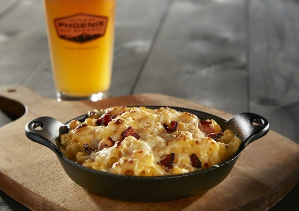 Cast Iron Macaroni and Cheese at The Phoenix Ale Brewery Central Kitchen