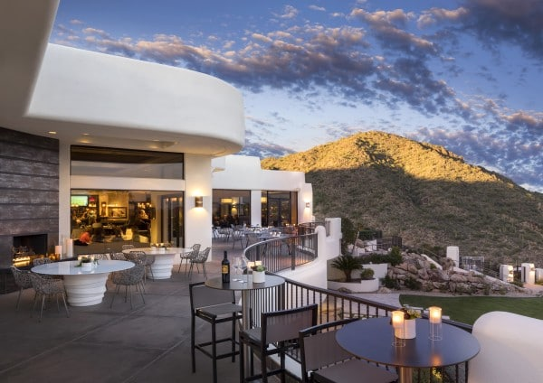 Flourish patio at CopperWynd. Photo courtesy CopperWynd Resort & Club in Fountain Hills