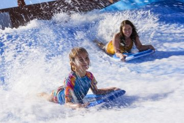 Westin Kierland's FlowRider offers great summer fun. Photo courtesy Westin Kierland Resort & Spa