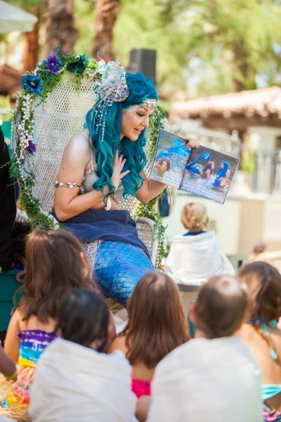Mermaid Storytelling at Fairmont Scottsdale Princess