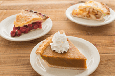 Pies at Miracle Mile Deli