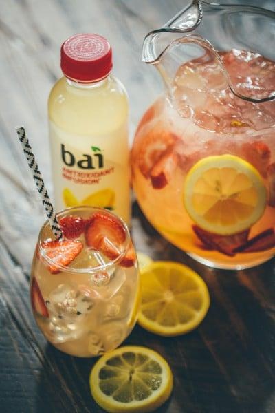 Summer Cocktail Recipe: Bai Strawbeery Limu Lemonade