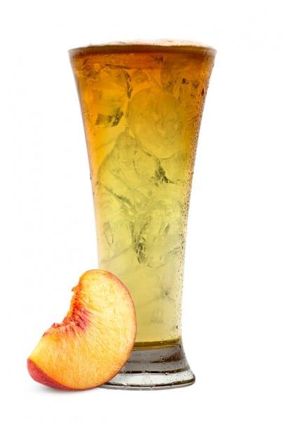 Summer Cocktail Recipe: The Berentzen Beer Cocktail is a mix of Berentzen Peach Liqueur and Lager.